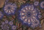 Cornflowers by aartika-fractal-art