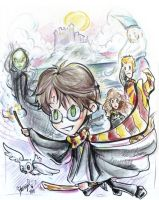 Harry Potter World by StarMasayume