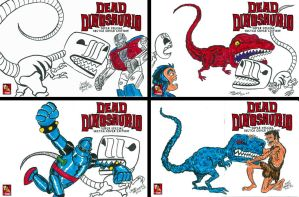 DEAD DINOSAUR Sketch Cover gallery by javierhernandez