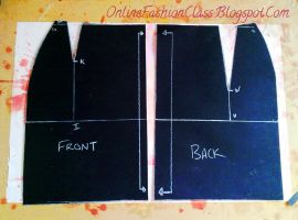 Tutorial: Basic Skirt Block by OnlineFashionClass
