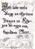 Fraktur by librarian-of-hell