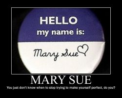 Mary Sue by FayetheFaerie