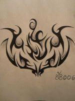 Tribal Tattoo Design by blackbutterfly006