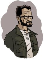 Happy 52nd, Walter White by BingoGasStation