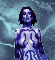 Cortana by SuperKusoKao