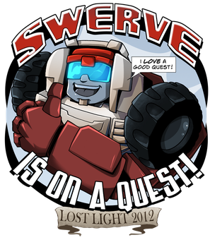Swerve is on a quest! by MachSabre