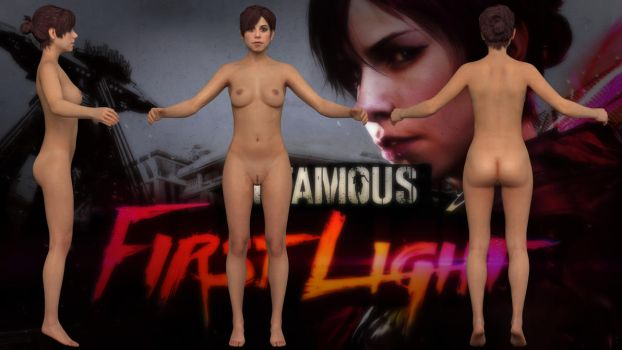 [InFAMOUS: First Light] Fetch nude model by g1pno
