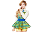 Nana Orange Caramel png. by Sellscarol