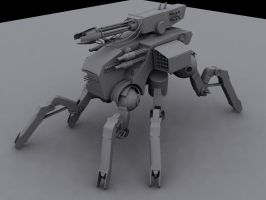Spider Mech by ulyses