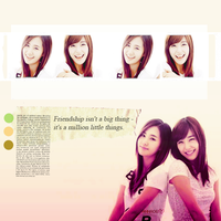SNSD- Tiffany, Yuri by anna06i