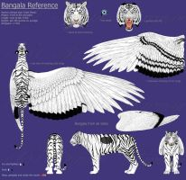 Bangala reference sheet by SarahFraggle