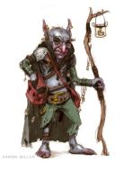 Dust Goblin Ragpicker by AaronMiller