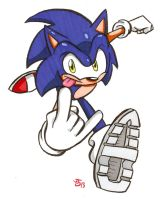 Yes, another Sonic floating about the Interwebz by Spectrumelf