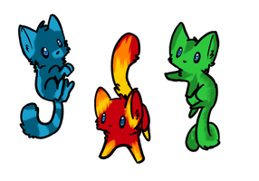 Ultra Rare Element Cat Adopts- CLOSED by SoftcloudRC
