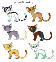 Cat points adoptables by X--O
