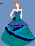 Me in a ball gown ^^ by kisshugirl