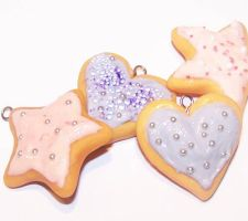 Sugar cookies by PookieTookieJewelry