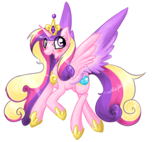 Princess Cadence by theluckyangel