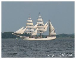 Chasing Tall Ships - Europa by Margotka