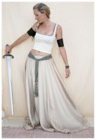 sword lady 4 by Lisajen-stock