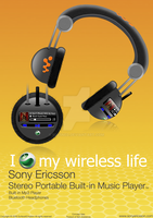 Sony Ericsson Heahphone Advert by SL05NED
