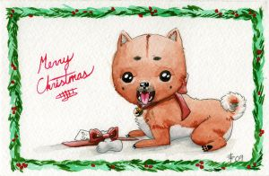 Christmas Card 2009 by AnimeGirlMika