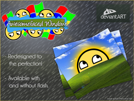 Awesomefaced Windows V2 by Serede