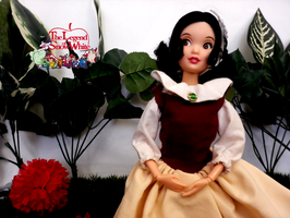 The Legend of Snow White OOAK Custom Doll Costume by Leah-Sharone