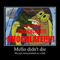 Mello's a fish by TeezTheWammyGamer