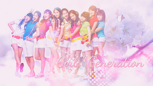 Girls' Generation / Colorful by EnchantBlossom