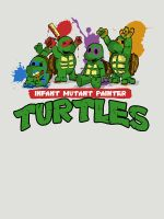 Infant Mutant Painter Turtles by ToastMonsters