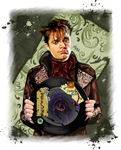 Ouat - Jefferson Mad Hatter - Welcome in my world by LadyMintLeaf