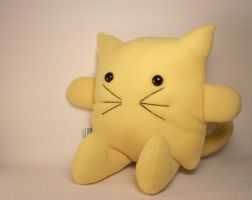 Yellow Cat Plush Friend by Saint-Angel