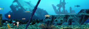 Under Sea Environment by Eyth