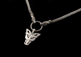 Fenrir wolf necklace by Ugrik