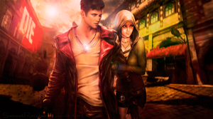Dante and Kat_DmC 2013 Final by SweeetRazzbery