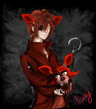 five nights at freddy's  //Foxxy by DgChaii