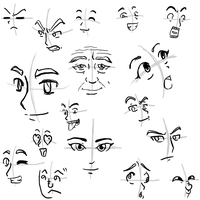 Face Practice by JinglesRasco