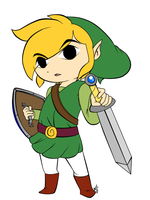 Toon Link by Togekisser
