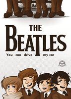 The Beatles - You can drive my car cover - by Keed-Kat