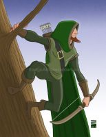 Sketch Dailies #5: Robin Hood by EadgeArt