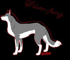 Silver-fang by Metalwolf13