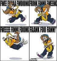 FANK FOO FAN by cozmictwinkie