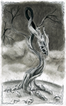 Draconic Tree by The-Emerald-Dragon