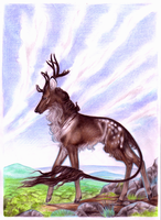 Eilias | Stag | Allied Herds | Retired Soldier by Shotechi