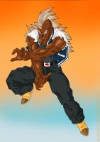 Black DBZ Fighter Competition by bloodsplach