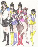 My Own Sailor Sout Group by Pharaoh-Yami