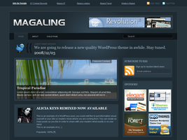 Magaling Free WordPress Theme by dulcepixels