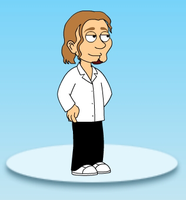 Steve Vai Family Guy style by yecgaa
