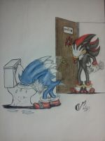 Sonic-moderno-en Wc De Shadow-prt2 by alice-werehog